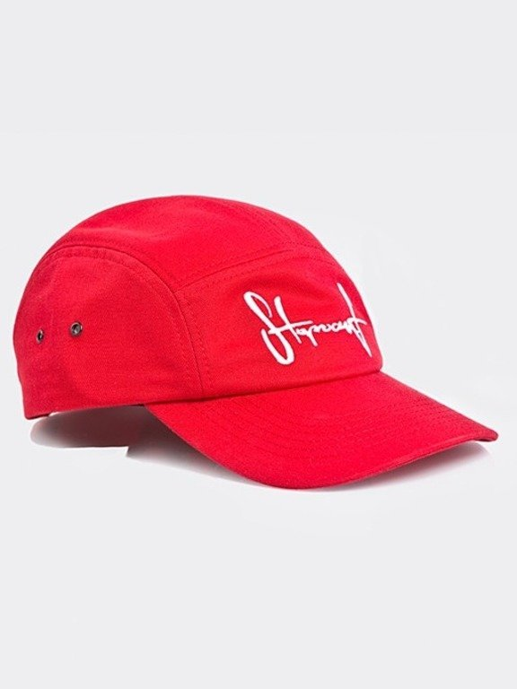 STOPROCENT CAP 5PANEL TAG17 RED