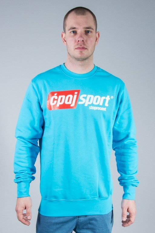 STOPROCENT CREWNECK ĆPAJSPORT BLUE