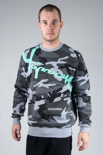 STOPROCENT CREWNECK DOWNHILL16 CAMO