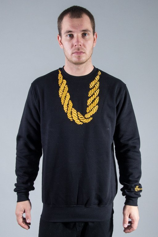 STOPROCENT CREWNECK KETA BLACK