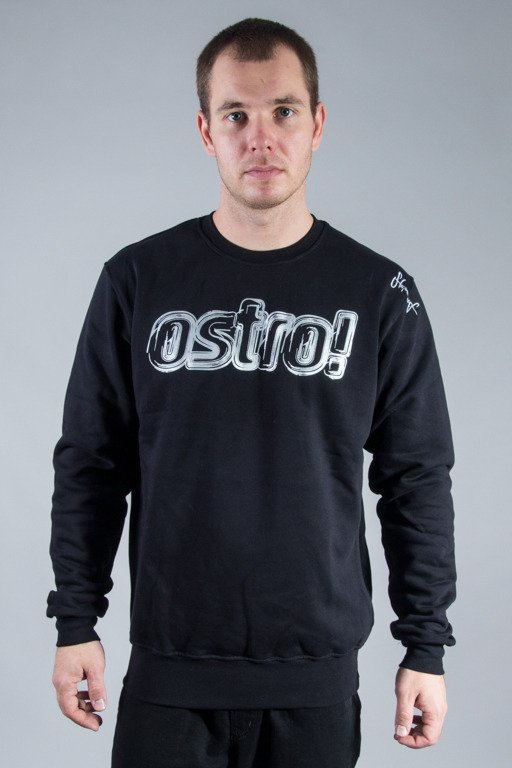 STOPROCENT CREWNECK OSTRO BLACK