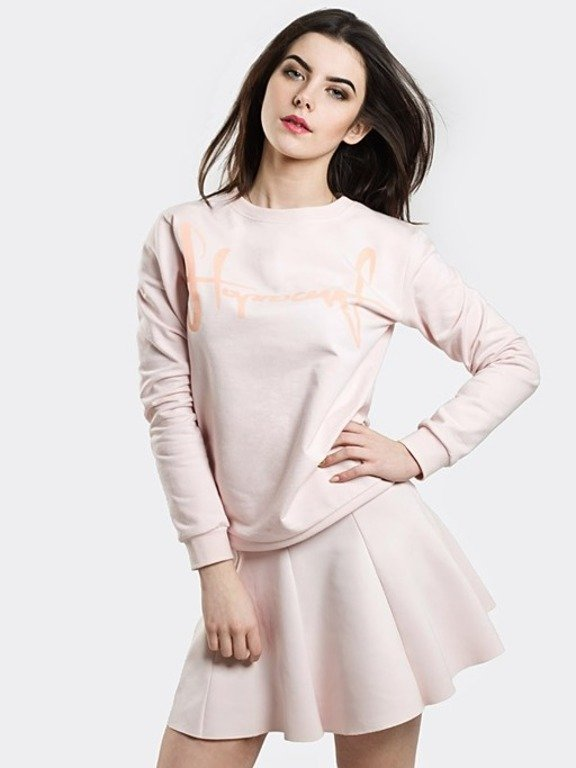 STOPROCENT CREWNECK WOMAN TAG18 PINK