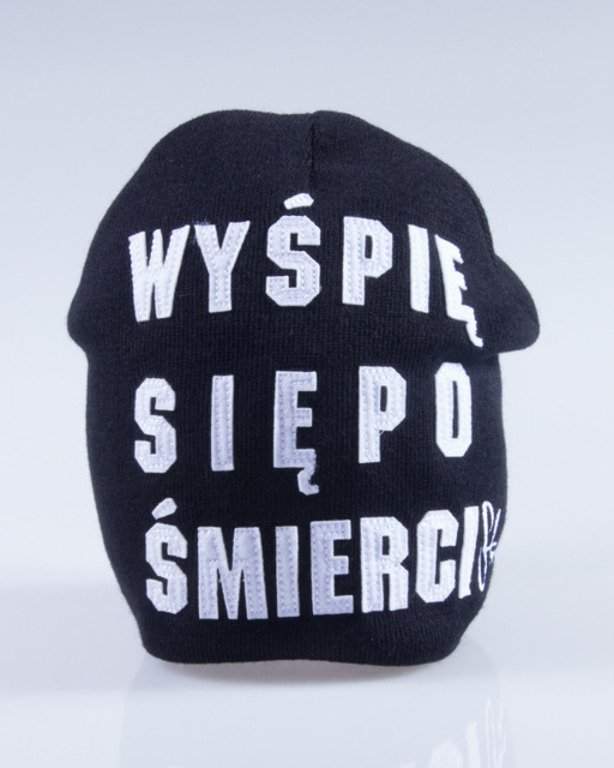 STOPROCENT CZAPKA ZIMOWA SLEEP BLACK