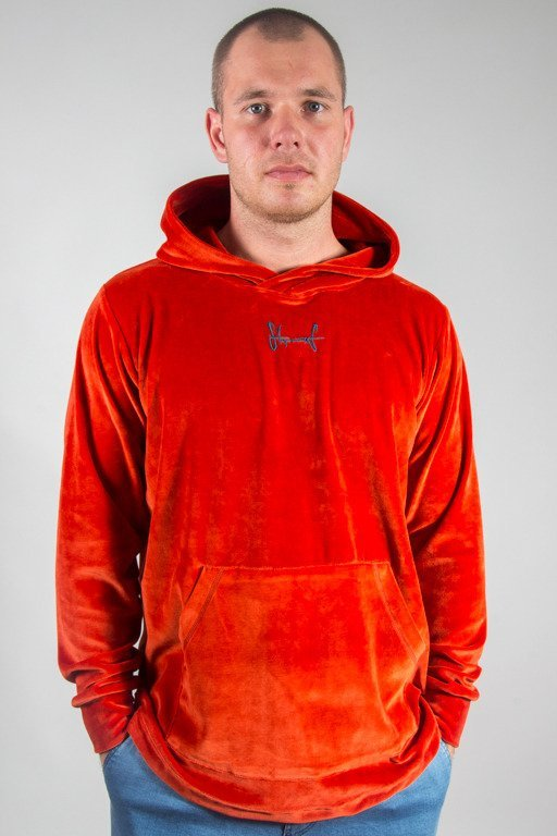 STOPROCENT HOODIE FROTTE RED
