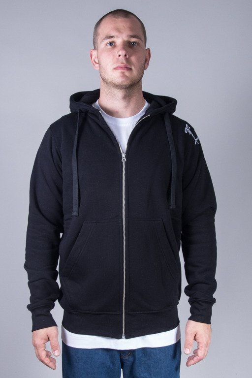 STOPROCENT HOODIE ZIP BASE BLACK