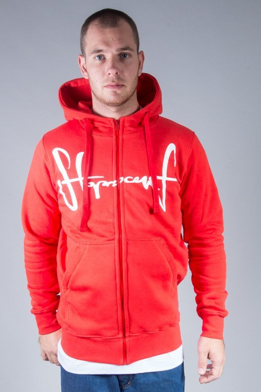 STOPROCENT HOODIE ZIP TAGZIP16 RED