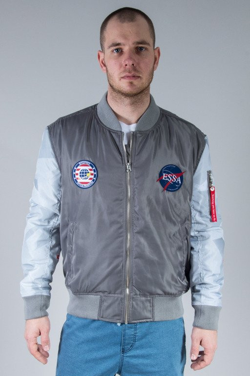 STOPROCENT JACKET NASA FLYERS GREY