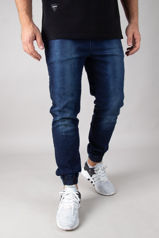 STOPROCENT JEANS JOGGER CLASSIC DARK