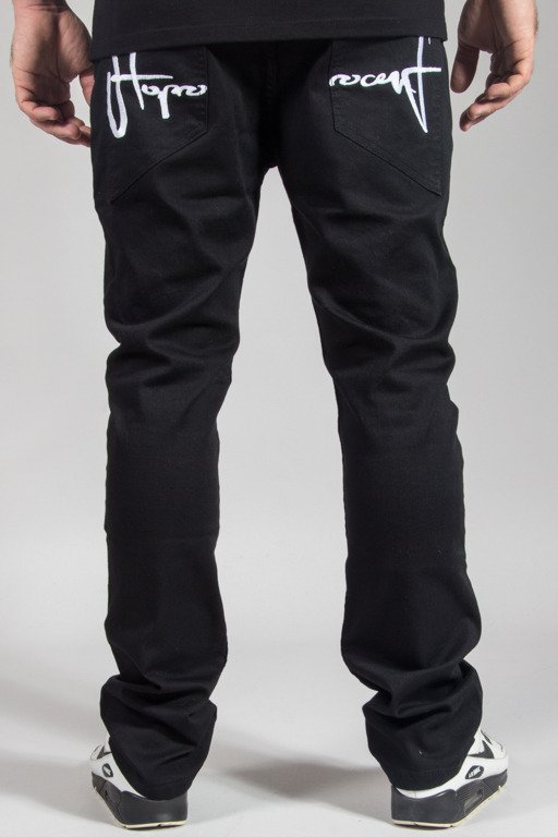 STOPROCENT JEANS SLIM LOW CLASSIC BLACK