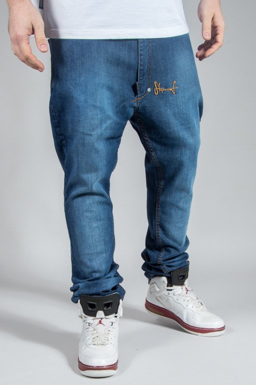 STOPROCENT JEANS SLIM LOW TRUE JEANS