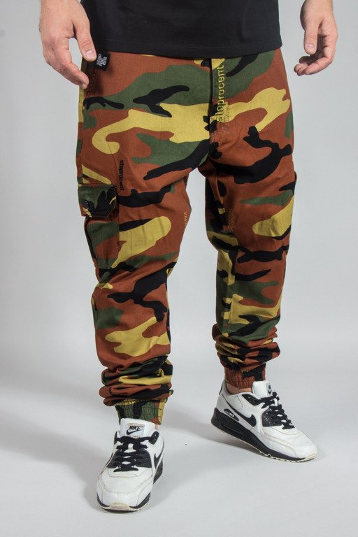 STOPROCENT JOGGER ARMY 17 CAMO