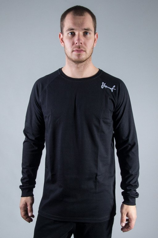 STOPROCENT LONGSLEEVE BASE BLACK