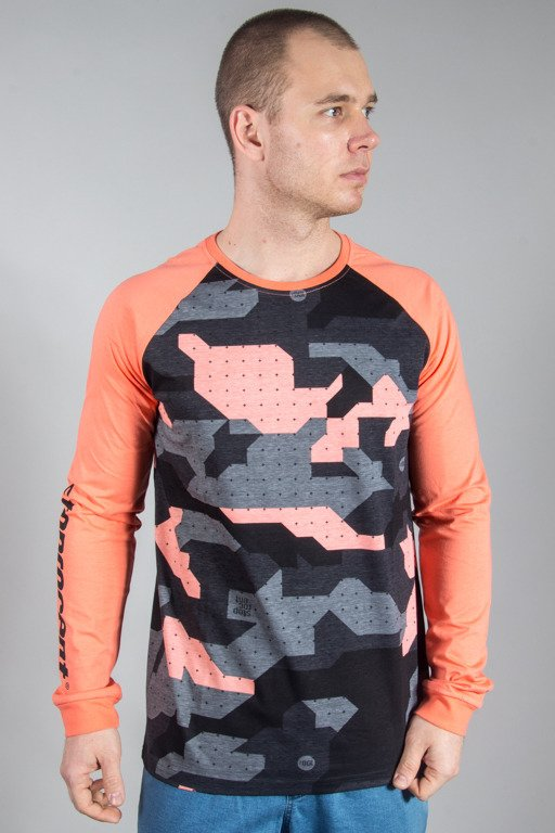 STOPROCENT LONGSLEEVE CAMO18 CORAL