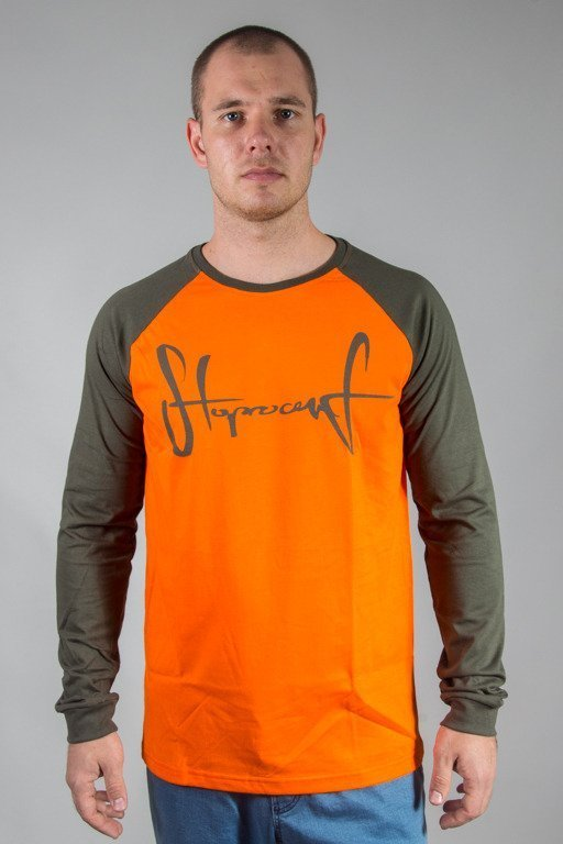 STOPROCENT LONGSLEEVE TAG17 ORANGE