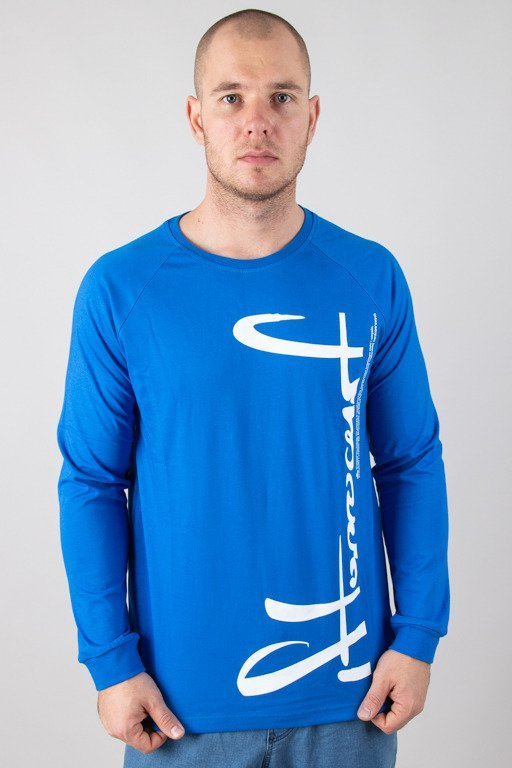 STOPROCENT LONGSLEEVE VERTICAL BLUE
