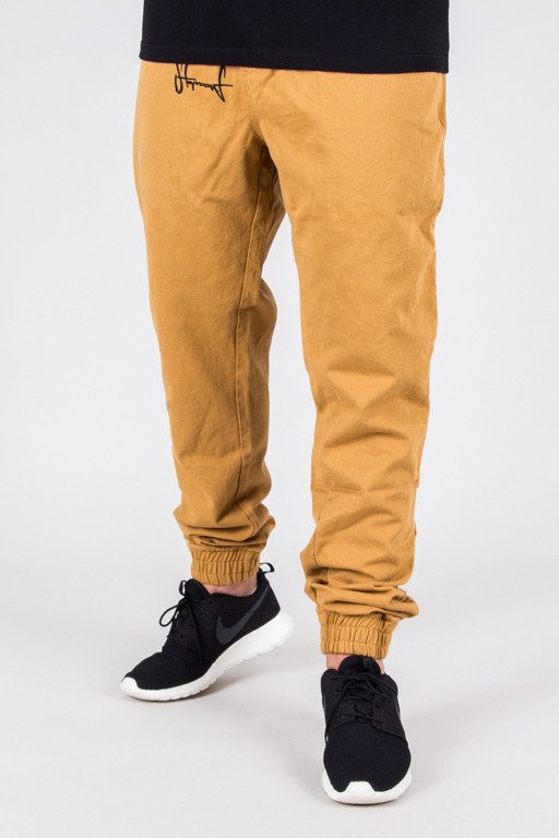 STOPROCENT PANTS CHINO JOGGER CLASSIC HONEY