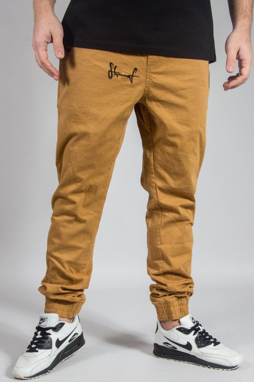 STOPROCENT PANTS CHINO JOGGER CLASSIC17 HONEY