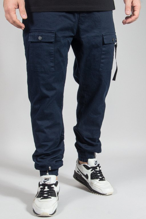 STOPROCENT PANTS CHINO JOGGER SURVIVAL 17 NAVY