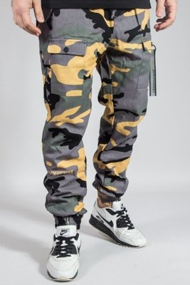 STOPROCENT PANTS CHINO JOGGER SURVIVAL17 CAMO GREEN