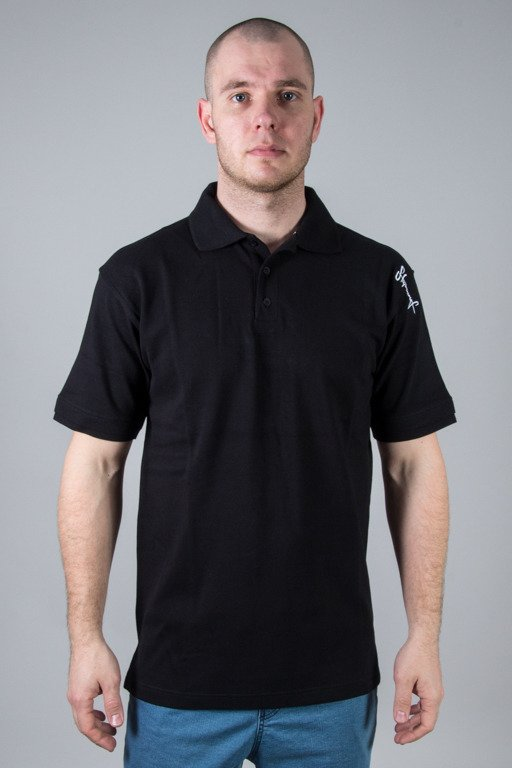 STOPROCENT POLO TAG17 BLACK