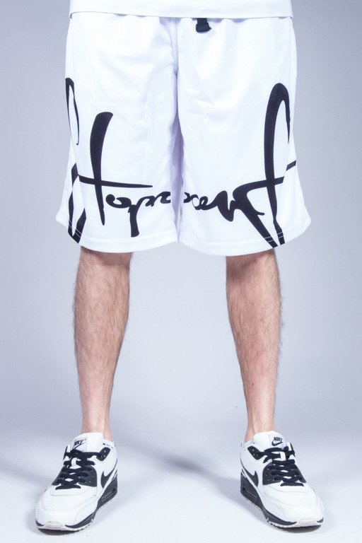 STOPROCENT SHORTS FRONTAG WHITE