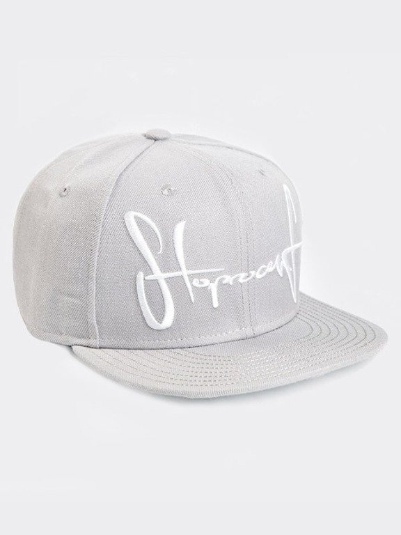 STOPROCENT SNAPBACK BIG TAG GREY
