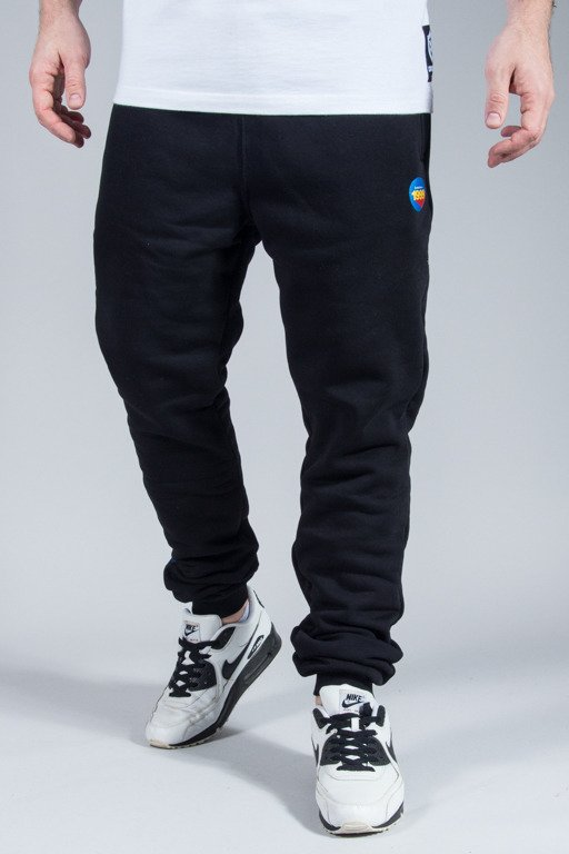 STOPROCENT SWEATPANTS ATHLETIC BLACK