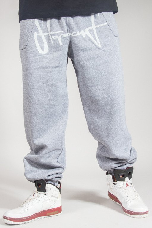 STOPROCENT SWEATPANTS BLECHTAG17 MELANGE