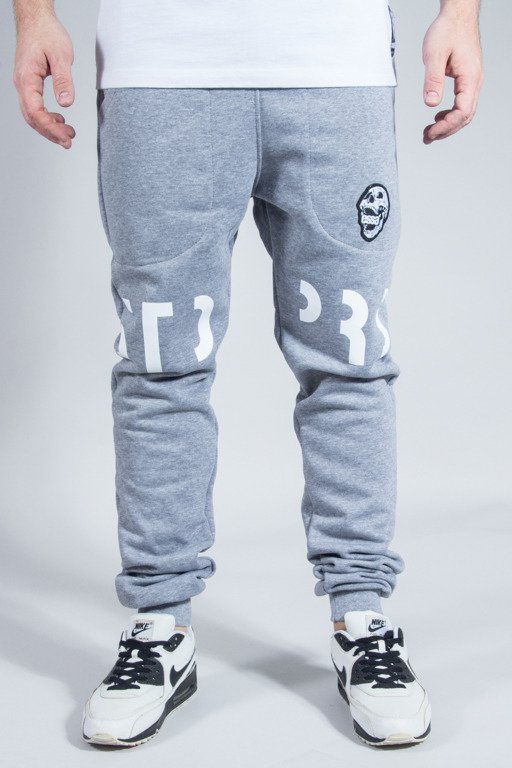 STOPROCENT SWEATPANTS COWBOY FUTURE GREY