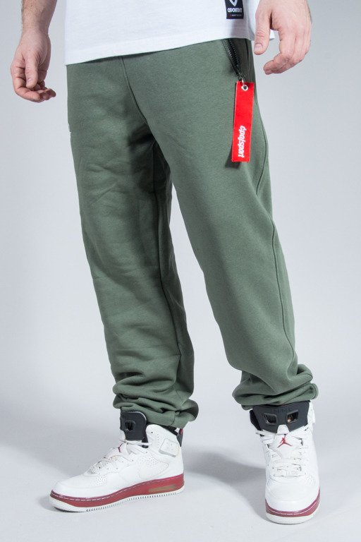 STOPROCENT SWEATPANTS CS PULL KHAKI
