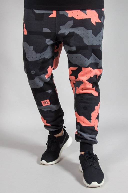 STOPROCENT SWEATPANTS JOGGER CAMU CORAL