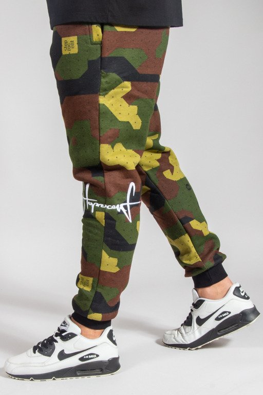 STOPROCENT SWEATPANTS JOGGER KNEETAG17 CAMO