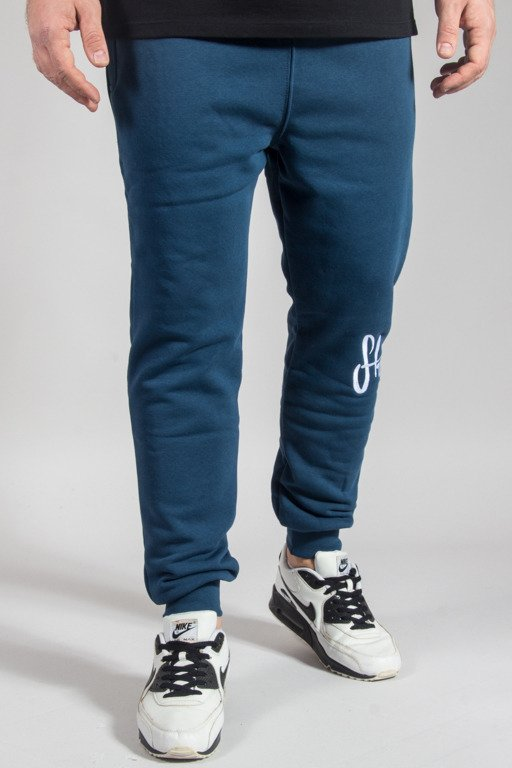 STOPROCENT SWEATPANTS JOGGER KNEETAG17 NAVY