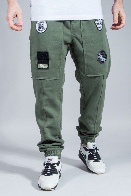 STOPROCENT SWEATPANTS JOGGER RAW KHAKI