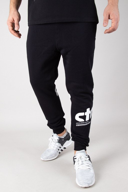 STOPROCENT SWEATPANTS JOGGER UPHILL BLACK
