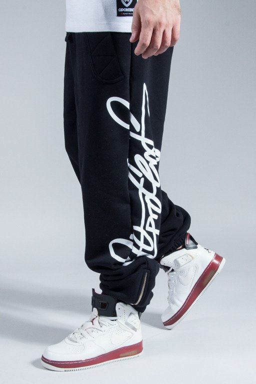 STOPROCENT SWEATPANTS NEWVERT BLACK