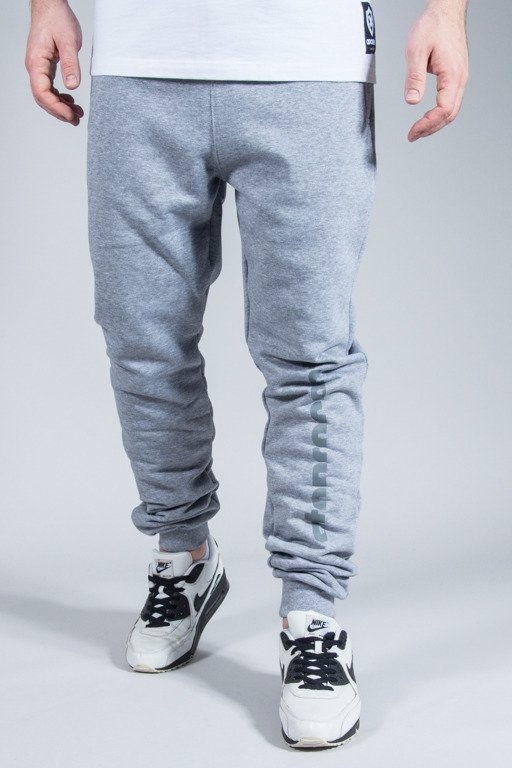 STOPROCENT SWEATPANTS SLICE MELANGE