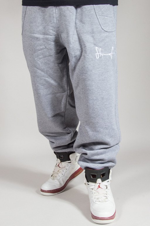 STOPROCENT SWEATPANTS SMALLTAG MELANGE