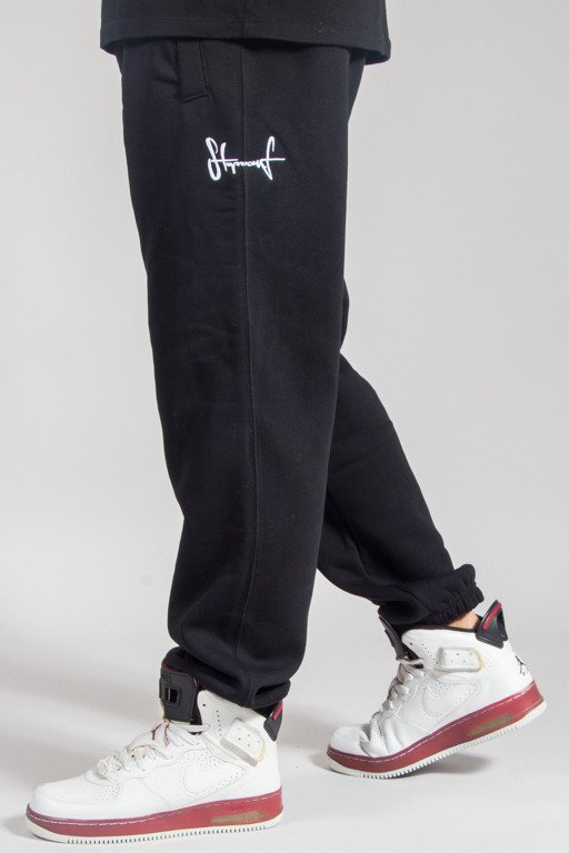 STOPROCENT SWEATPANTS SMALLTAG17 BLACK