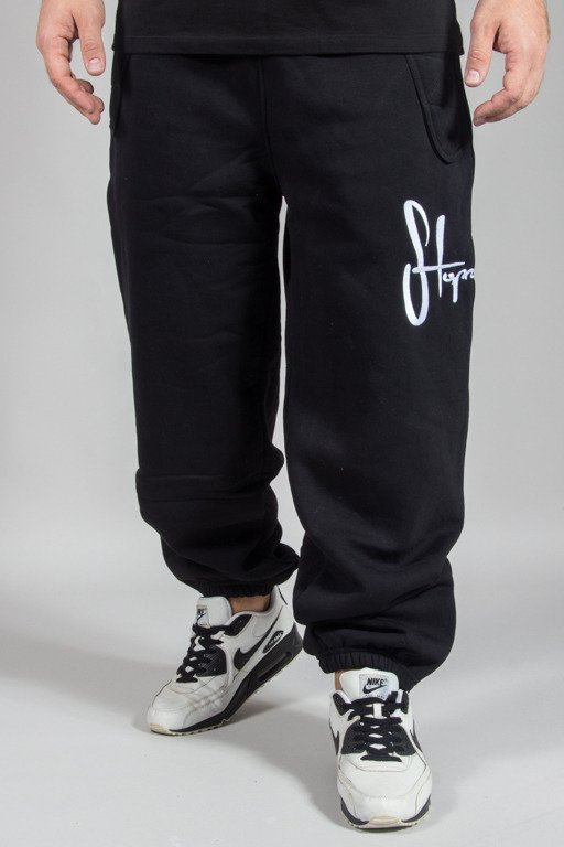STOPROCENT SWEATPANTS TAG17 BLACK