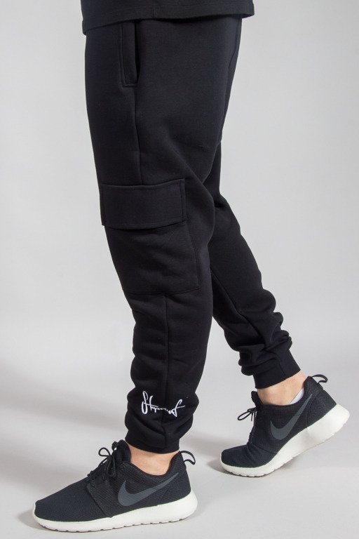 STOPROCENT SWEATPANTS VINTAGE BLACK