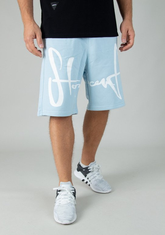 STOPROCENT SWEATSHORTS TAG BLUE