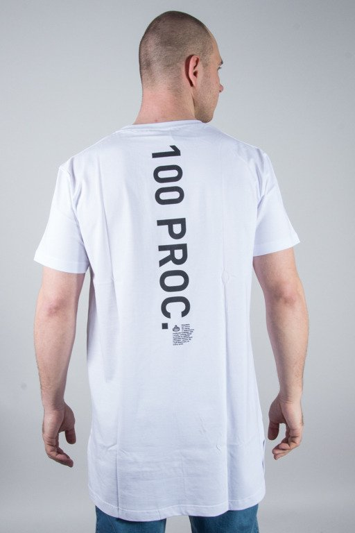 STOPROCENT T-SHIRT 100PROC WHITE