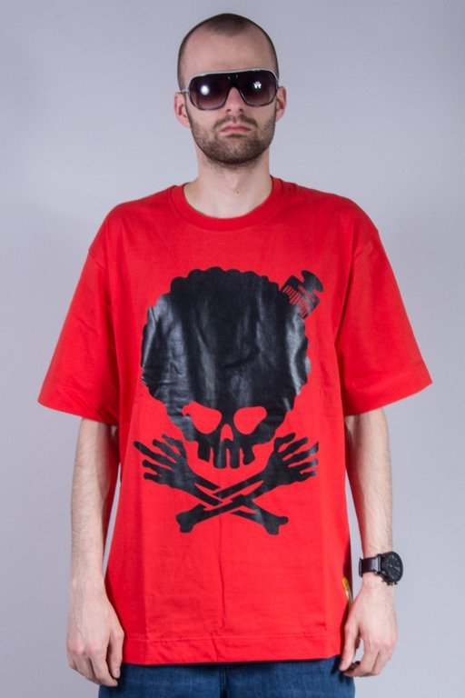 STOPROCENT T-SHIRT AFRO RED