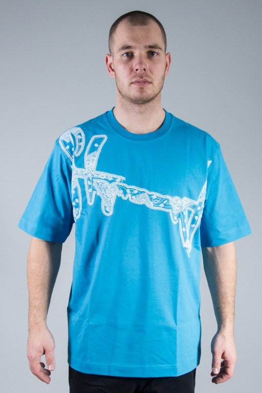 STOPROCENT T-SHIRT BANDANA BLUE