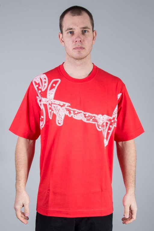 STOPROCENT T-SHIRT BANDANA RED