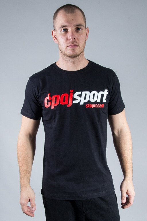 STOPROCENT T-SHIRT CS SIMPLE BLACK