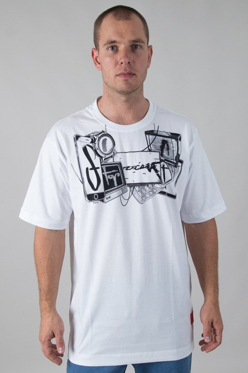 STOPROCENT T-SHIRT DEVICETAG WHITE