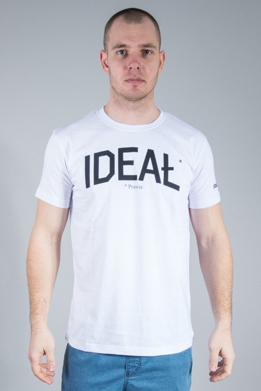 STOPROCENT T-SHIRT IDEAŁ WHITE
