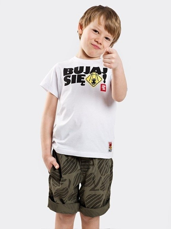 STOPROCENT T-SHIRT KID BUJAJ WHITE